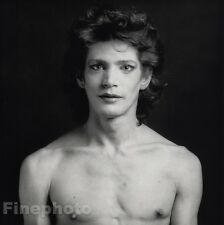 1980 Vintage ROBERT MAPPLETHORPE Self Portrait Gay SEMI NUDE Photo Gravure 16x20