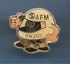 Pin's pin ANJOU FILIERE MOTO AFM CASQUE BMW (ref 077)