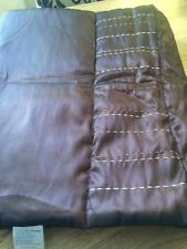 Cascade Home Brown Embroidered Bed Runner Single