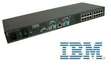 €199+IVA IBM 31R3143 16 Port KVM Console Switch Kit with Rackmount 17352LX