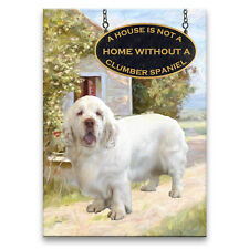 CLUMBER SPANIEL House Is Not A Home FRIDGE MAGNET New