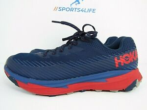 MEN'S HOKA ONE TORRENT 2 size 8 !WORN LESS THAN 10 MILES! RUNNING SHOES