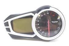2013 Triumph Speed Triple 1050 R Speedometer Gauges Instrument Clust 17K T250070