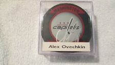 Alex Ovechkin  Autographed Washington Capitals Puck NHL Official