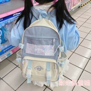 Cinnamoroll Backpack Japanese Girl Kawaii Shoulder School Bag Satchel Handbag