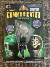 Power Rangers Mighty Morphin Legacy Communicator Tommy Green White Ranger
