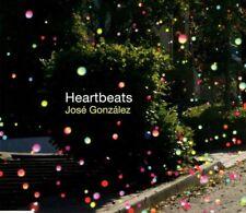 JOSE GONZALEZ Heartbeats   2 TRACK CD  NEW - NOT SEALED