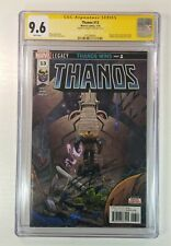 🔥Thanos #13 CGC 9.6 1st print SS SIGNED CATES 1st appearance COSMIC GHOSTRIDER!