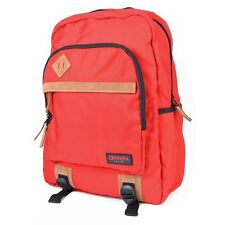 "Olympia Aston Ergonomic 15.6"" Padded Laptop School Travel Backpack - Red"