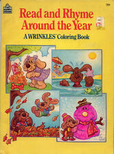 Wrinkles coloring book RARE