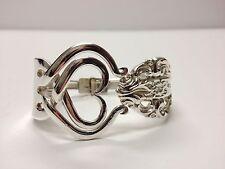 FORK BRACELET silver-plate HEART INSIDE  CHAMBORD by REED & BARTON