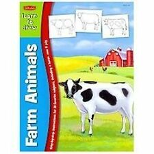 Learn to Draw Farm Animals, Walter Foster Publishing, Very Good Book