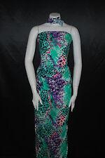 Modal 100% Knit Jersey Fabric Ecofriendly Animal skin Print Multicolor 6 oz