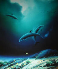 "Robert Wyland    ""Children of the Sea""    Print      MAKE OFFER"