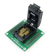 LQFP64 TQFP64 QFP64 14x14 mm 0.8Pitch IC Program Programmer Programming Adapter