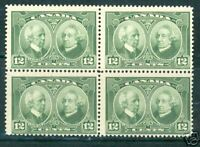 CANADA LAURIER & MACDONALD BLOCK SCOTT#147 MINT NH