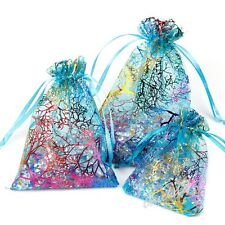 50PCS Organza Candy Bags Wedding Party Favor Decoration Gift Sheer Pouches Gift