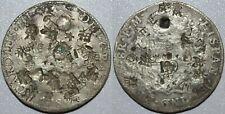 1786 FM Mexico 8 Reales ~ Heavy CHOPMARKS ~ Spanish Colonial ~ Silver ~ CM1