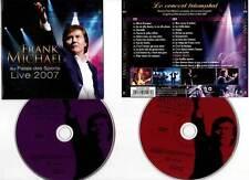 """FRANK MICHAEL """"Au Palais Des Sports - Live 2007"""" (2 CD) 2007"""