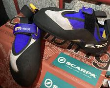 Scarpa rock climbing shoes