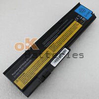 NEW Laptop 5200mAh Battery For IBM ThinkPad X200S X201 42T4536 42T4537 42T4542