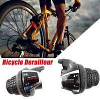 1Pair RevoShift SL-RS35 Bicycle Twist Grip MTB Brake/Shifter Set 18/21 Speed
