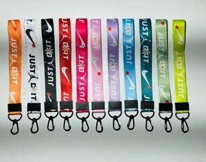 Nike Air Jordan Inspired Car Phone Bag Charm Keychain Lanyard  Short Style