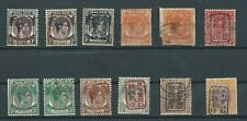 More details for japanese occupation straits settlements, perak & pahang on card  mint, mm & used