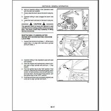 New Holland LS180 LS190 Skid Steer Loader Service Manual CD  --- LS 180 190