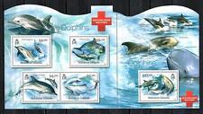 Isole Salomon 2012 delfini foglio n° 1371 à 1374 neuf 1° scelta