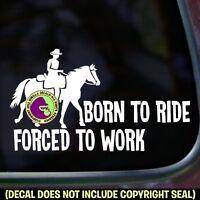 Polo Player Vinyl Decal Sticker Horse Rider Cheval Poney Love Voiture Fenêtre Signe