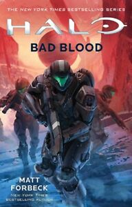 Bad Blood Halo Series Novel Book 23 by Matt Forbeck Trade Paperback