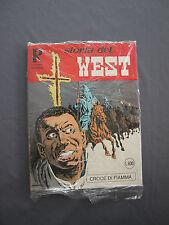 160 STORIA DEL WEST - CROCE DI FIAMMA - Collana Rodeo  10/1980 L 600