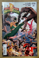 MIGHTY MORPHIN POWER RANGERS #1 1ST PRINT WITH FREE VARIANT COVER (2016) BOOM!