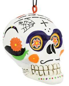 Tree Buddees Day of The Dead Sugar Skull Halloween Christmas Ornament Ornaments