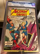 Action Comics #252 (DC, 1959) CGC VG 4.0 1st Appearance Supergirl