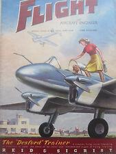 6/1946 PUB REID & SIGRIST KIRDY MUXLOE DESFORD TRAINER AIRCRAFT AVION COVER AD