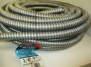 Southwire Alflex Aluminum Flexible Conduit Cable 3/4 in. x 100 ft.