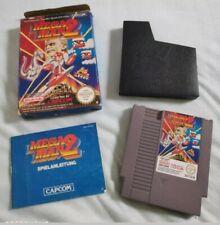 NES Nintendo Mega Man 2 OVP und Anleitung