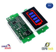 1S-8S Batterieanzeige Blue Lithium Li-ion 18650 Battery Display Batterie