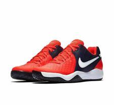 Nike Air Zoom Resistance HC Crimson White Hard Court Tennis Shoes Men Women UK 6