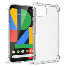 Google Pixel 4 XL (2019) Case Soft Crystal Clear Silicone Shockproof Cover Clear