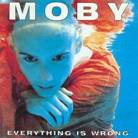 MOBY Everything Is Wrong CD BRAND NEW
