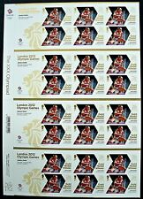 Jessica Ennis 2012 London Olympic GB Winners Stamps Sheet.