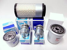 Filter Kit for Kubota GZD15 & GZD21 - Zero Turn Mowers - Air Oil Fuel HST filter