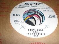 The Lou Stein Ten 45 Lou's Tune EPIC PROMO