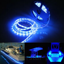 16.4ft Waterproof LED Marine Boat Yacht Deck Bow Pontoon Navigation Light Blue