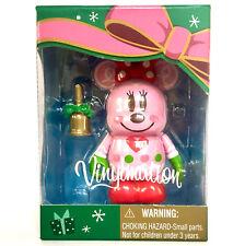 "DISNEY VINYLMATION 3"" JAPAN TOKYO CHRISTMAS GINGERBREAD MINNIE MOUSE PINK 2012"