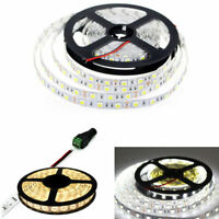 12V 5M SMD 5050 3528 5630  white WarmWhite 300 LED Flexible 3M Tape Strip Light