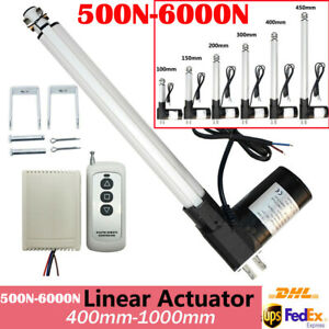 """Heavy Duty 16""""-40"""" Electric Linear Actuator 1320lbs 12V Motor for Auto Lifting"""